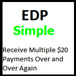 EDP Simple 150 X 150 Border $20 black